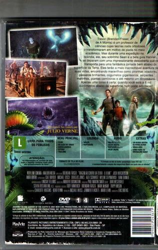dvd viagem ao centro da terra o filme - brendan fraser