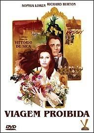 dvd viagem proibida, sophia loren, richard burton  1974  +