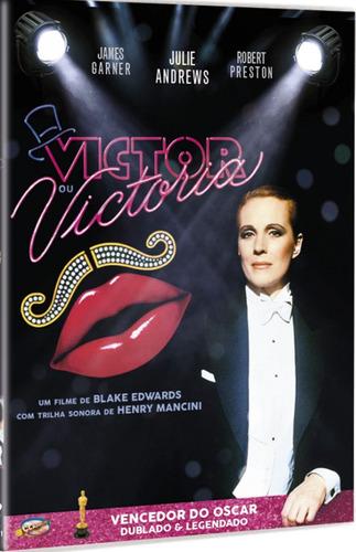 dvd victor ou victoria, de b.edwards c julie andrews, 1982 +