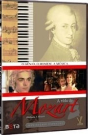 dvd vida de mozart - minissérie,1991, de juraj herz  +