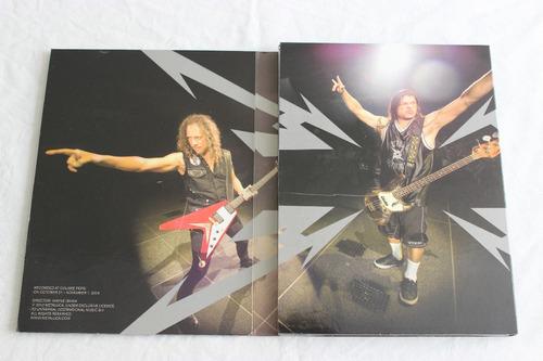 dvd video en vivo metallica quebec magnetic doble disco