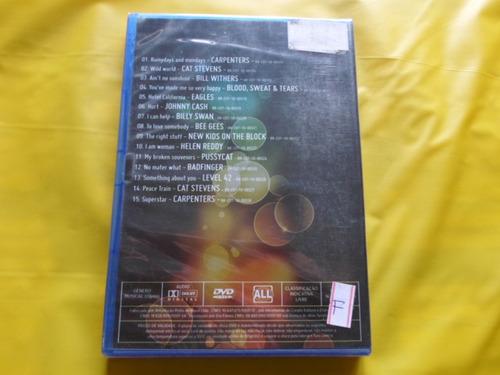 dvd videomix golden years / johnny cash e outros