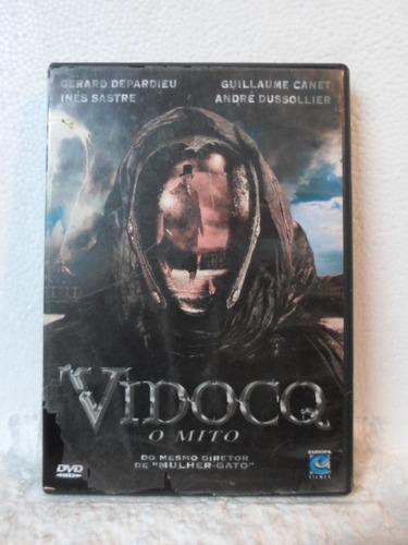 dvd vidocq - o mito - original