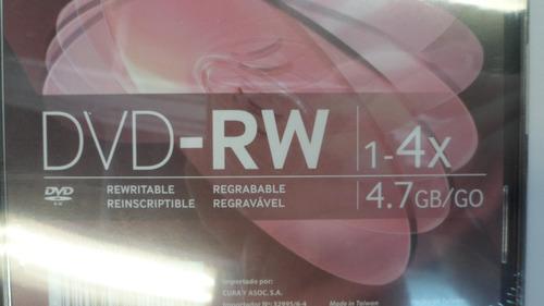 dvd virgen -rw tdk caja slim negra regrabable 1-4x 4.7gb