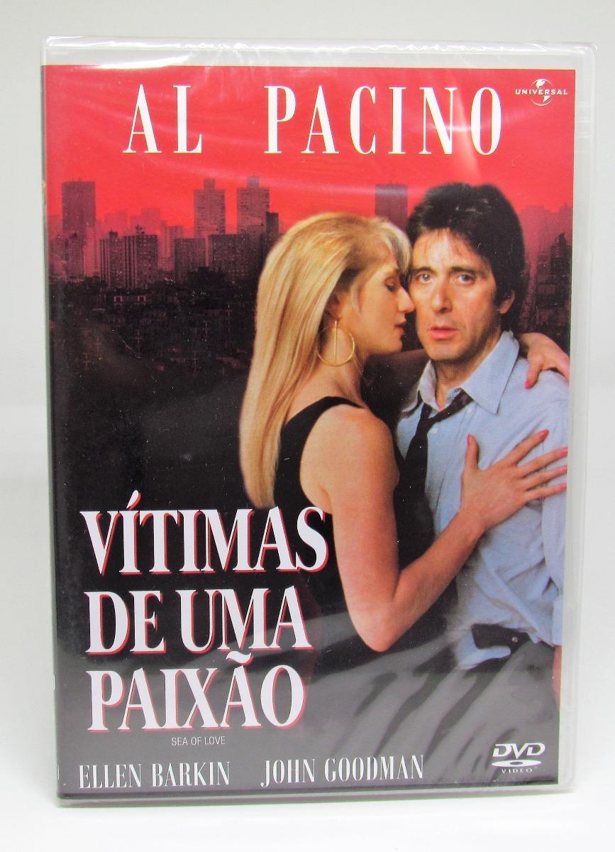 Dvd Vítimas De Uma Paixão Al Pacino Ellen Barkin Origina