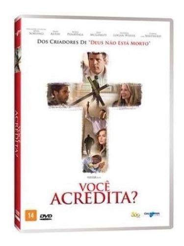 dvd você acredita ?   lançamento   original