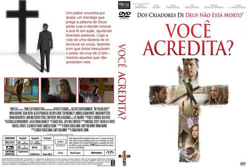 dvd você acredita? lançamento   original