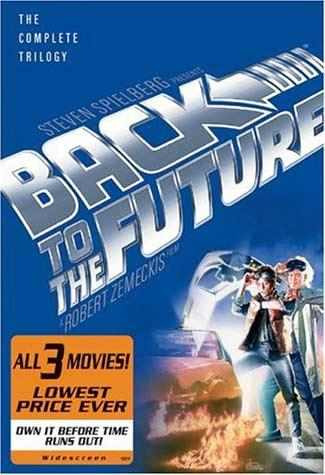 dvd volver al futuro (box set 3 peliculas)