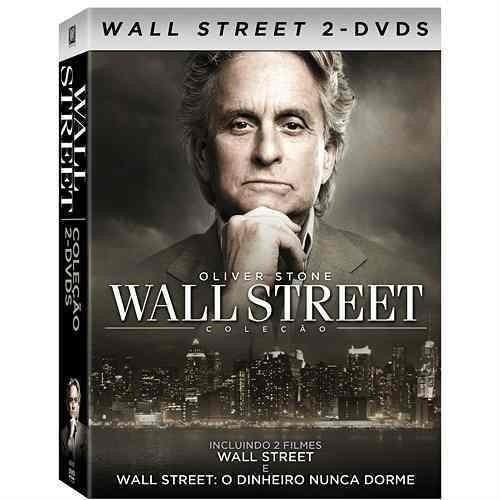 dvd - wall street 1 e 2 -  2 dvds