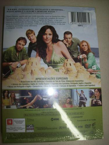 dvd - weeds - a quarta temporada - nacional - lacrado