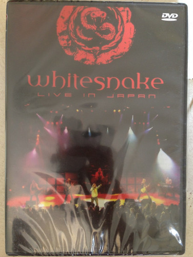 dvd - whitesnake - live in japan - novo/lacrado.