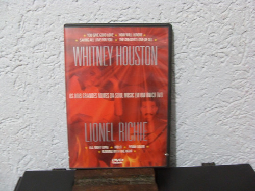 dvd whitney houston - lionel richie