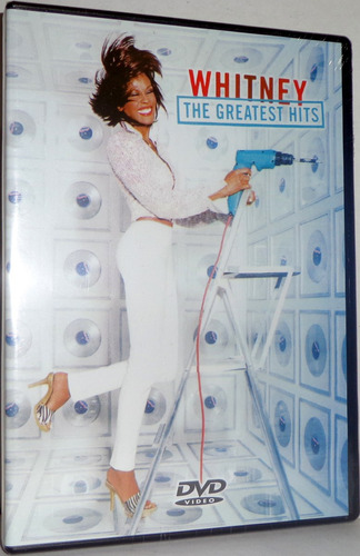 dvd whitney houston - the greatest hits