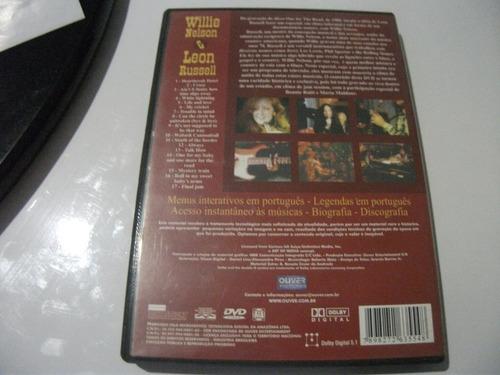 dvd willie nelson e leon russell e8b6