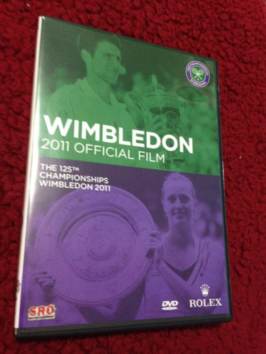 dvd wimbledon 2011 official film the 125 championship