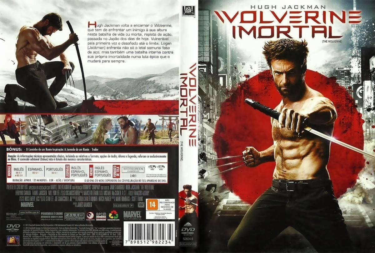 legenda do filme wolverine imortal