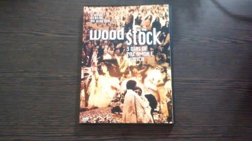 dvd woodstock- 3 dias de paz, amor e música