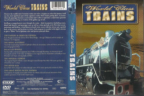 dvd world class trains 1999 mundo dos trens import + double