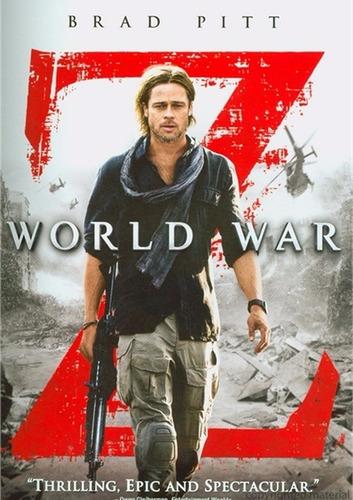 dvd world war z / guerra mundial z