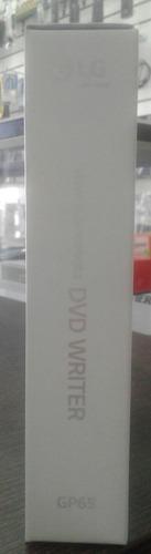 dvd writer externo lg ultra slim gp65 compatible  mac y win