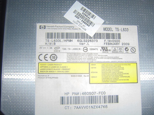 dvd writer para laptop hp dv 5