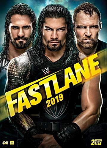 dvd : wwe: fastlane 2019 (amaray case, 2 pack)