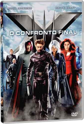 dvd - x- men - 3 - o confronto final - lacrado