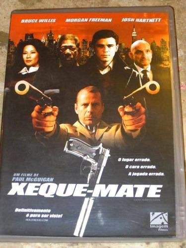 dvd xeque-mate (2005) bruce willis morgan freeman