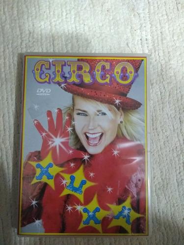 dvd xuxa xspb5 circo