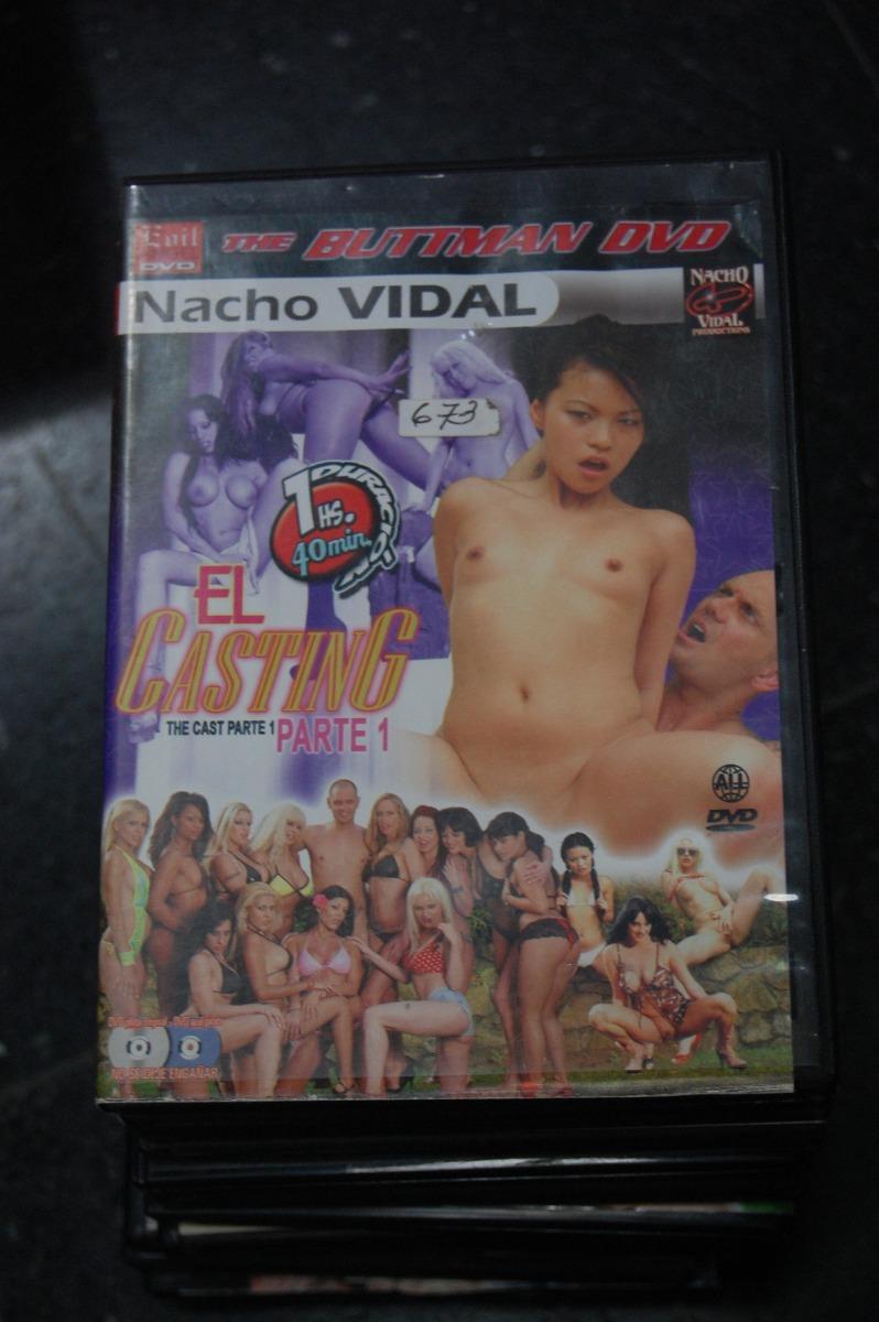 Nacho Vidal Casting dvd xxx 673 el casting parte 1 the buttman dvd / nacho vidal - $ 745,24