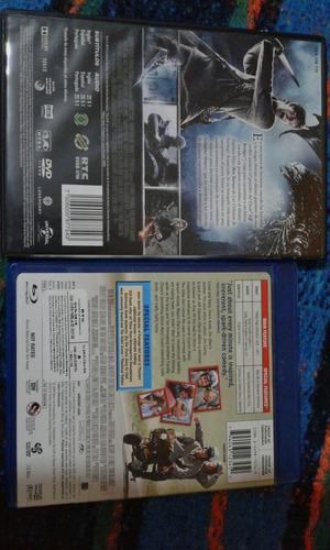 dvd y blu ray películas