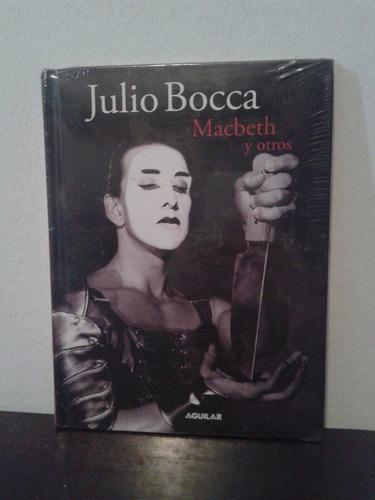 dvd y libro julio bocca - macbeth y otros -aguilar- nuevo!!!