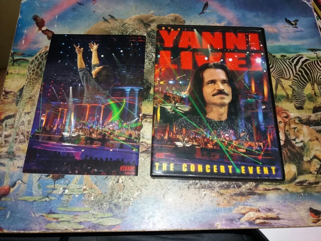 Dvd Yanni Live The Concert Event Original Importado Usa