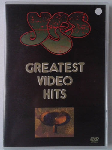 dvd yes - greatest video hits  'original'