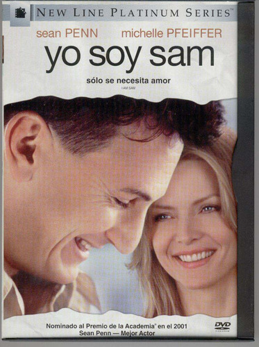 dvd yo soy sam sean penn michelle pfeiffer dakota fanning