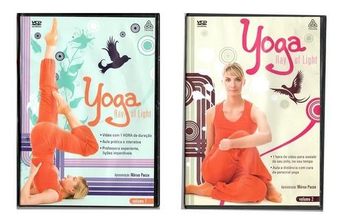dvd yoga - 2 dvds aulas práticas lacrados + 1 brinde