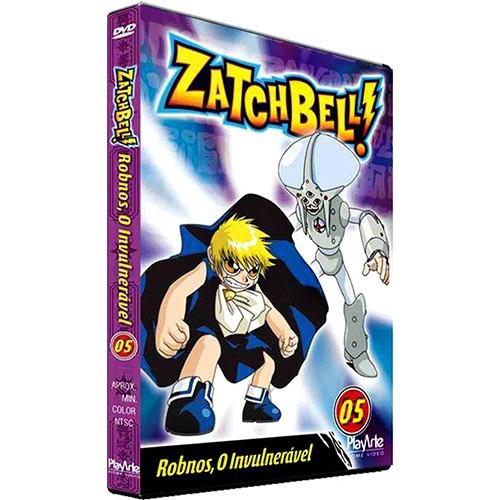 dvd - zatchbell: robnos, o invulnerável - volume 5- original