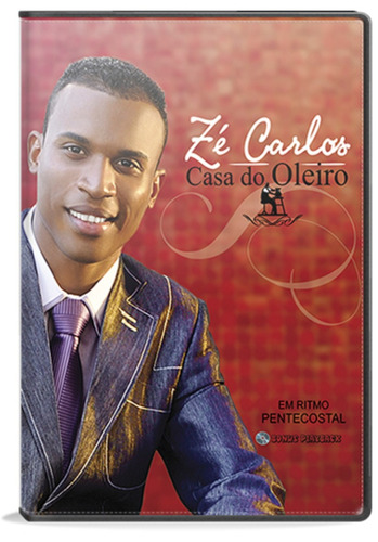 dvd zé carlos - casa do oleiro [original]
