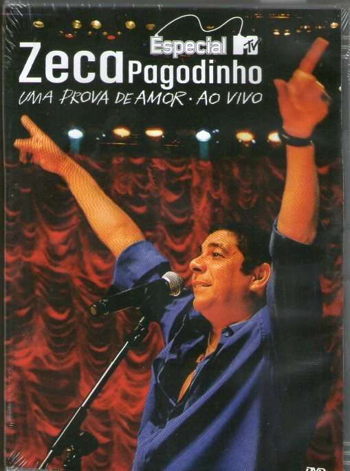 dvd zeca pagodinho uma prova de amor 2009