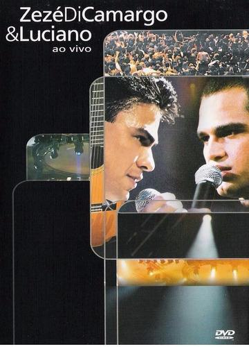 dvd zezé di camargo & luciano ao vivo - novo lacrado fábrica