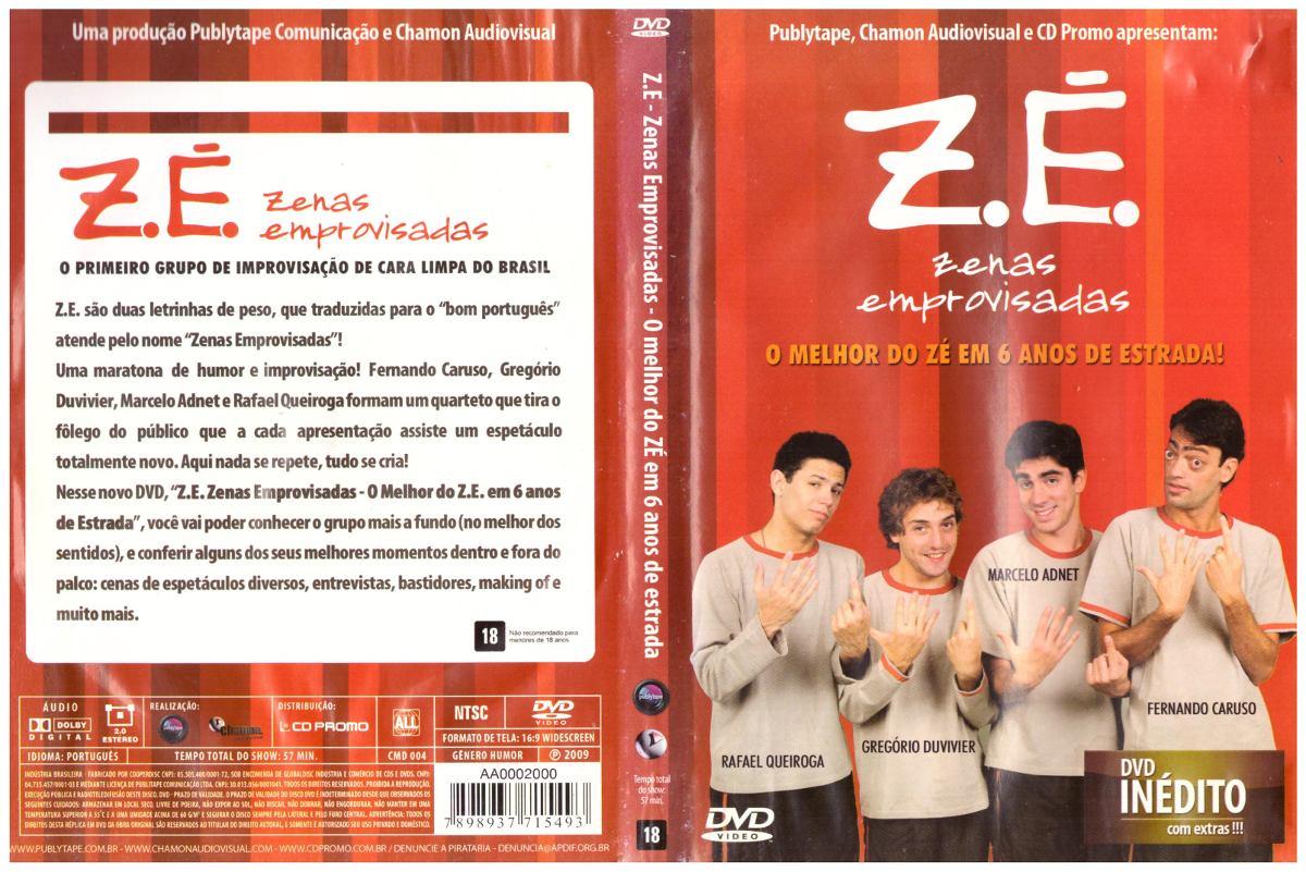 zenas emprovisadas dvd