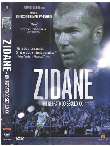 dvd zidane um retrato do seculo 21 - original