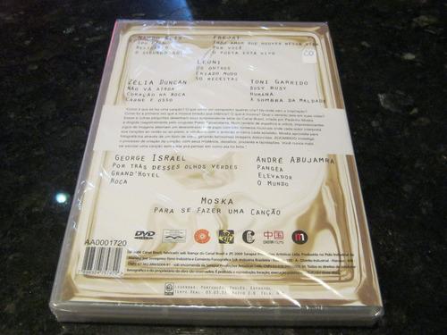 dvd zoombido ii - a série de paulinho moska 2