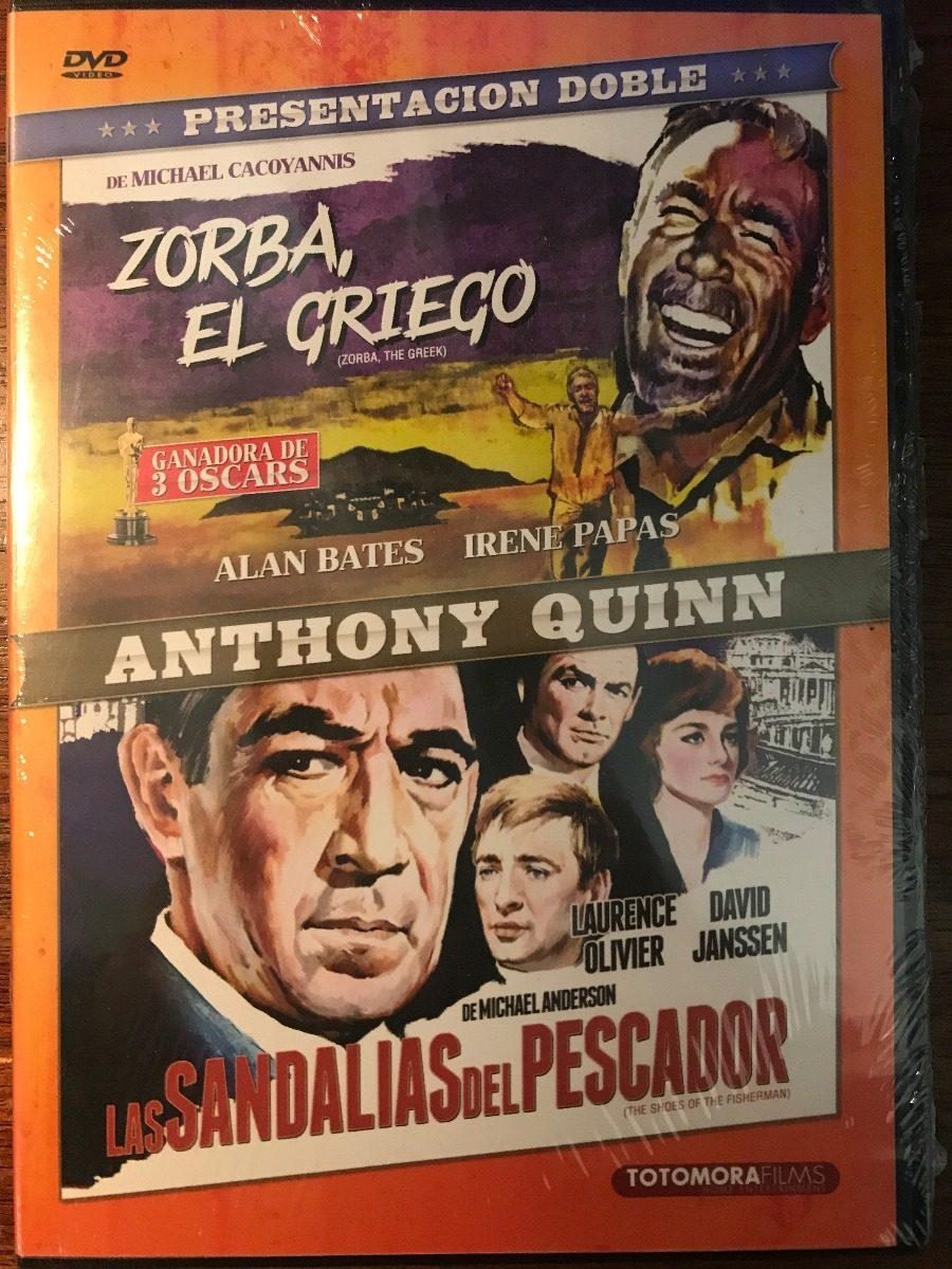 El Zorba Pescador Films Dvd GriegoLas 2 Sandalias Del FKcT1lJ