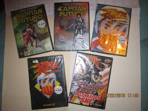 dvds 5 por $7.000.anime