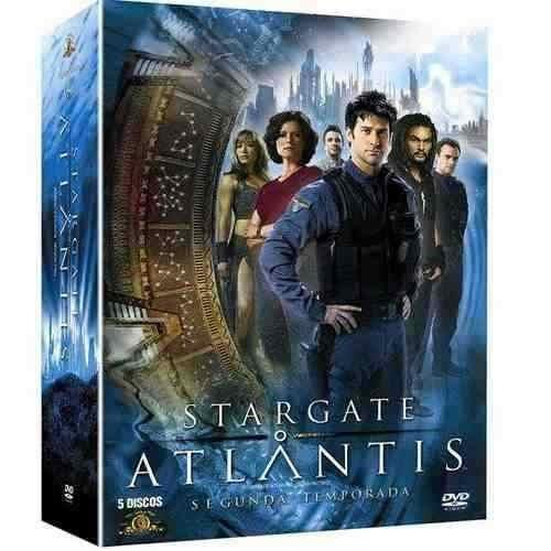 dvds - box - stargate atlantis - 2ª temporada