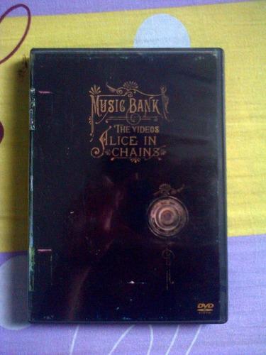 dvd's de conciertos de alice in chains - musicbank the video