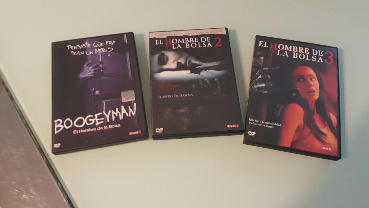 9782400fb Dvds El Hombre De La Bolsa (boogeyman) 1, 2 Y 3 Originales - $ 585 ...