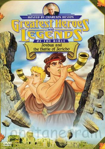 dvds grandes heroes y leyendas bíblicas (9 dvd)