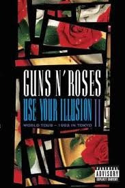 dvd's guns n roses- use your illusion 1 e 2 ( lacrados )
